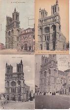 Lot de 4 cartes postales anciennes MANTES-LA-JOLIE 2