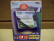 Golf Dose-A-Day for PDAs by Gary McCord CD-Rom Software Free Ship USA Reduced