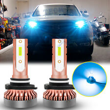 Ice Blue LED High Beam Daytime Running Light Bulbs For Acura TSX Subaru WRX STI