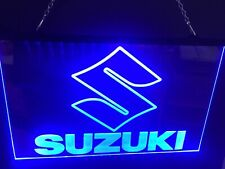 Suzuki Light Sign Neon Led Game Room Bar garage Man Cave (your Color Choice)