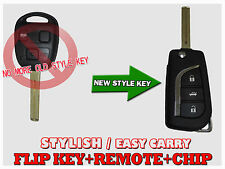 2003-2009 Remote Flip KEY For LEXUS RX330 RX350 RX400h with Original chip LF34