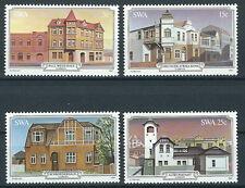 Südwestafrika-Namibia 1981 Historische Bauten Lüderitzbucht Mi.Nr. 508-511 MNH