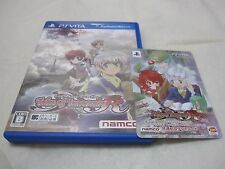 With First Limited Card. Used PS Vita Tales of Innocence R Japanese Version.