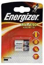 Energizer lr1 Batterie Alcaline 1.5v N KN mn9100 e90 4001 am5 910a-Confezione da 2