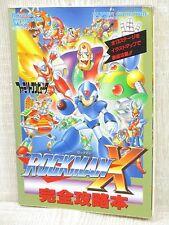 ROCKMAN X Guide Nintendo SFC Megamann Book TK