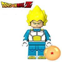 Super Saiyan Vegeta Dragon Ball Z Custom For Lego Minifig Mini Figure 02