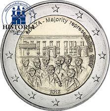 Unzirkulierte Bi-Metall Münzen nach Euro-Einführung aus Malta