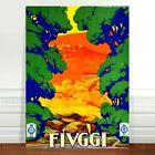 "Stunning Italian Travel Poster Art CANVAS PRINT 8x10"" Fivggi"