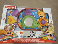 Fisher Price musical activity play mat