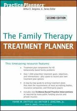 The Family Therapy Treatment Planner (PracticePlanners?)-ExLibrary