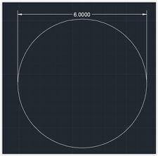 "1pc Acrylic Plastic (plexiglass)  Round  Sheet  - 1/4"" x 6""  Circle  -  Clear"