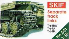 T-64 A/B/BV (BW) pistas Set 1/35 SKIF Raro
