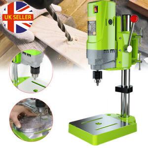710W Heavy Duty Rotary Pillar Drill Woodworking 5 Speed Drilling Bench Press UK