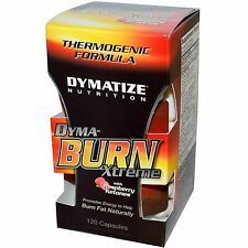 Dymatize DYMA-BURN XTREME Raspberry Ketones EPX-200 Fat Burner 120 caps BURN FAT