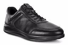Ecco Men'S aquet галстук Оксфорд, черные кроссовки, 43 м, Европейский союз (9-9.5 американских)