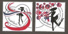 FRANCE 2020 Timbres N° 5373 / 5374  COEURS DE GUERLAIN  NEUF ** LUXE MNH