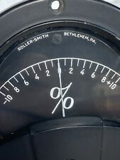 Vintage Roller Smith Panel Meter Steampunk Collectors Clean