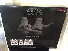 Kotobukiya Star Wars: Snowtrooper ArtFX+ Statue figures (Pack of 2)- AUTHENTIC