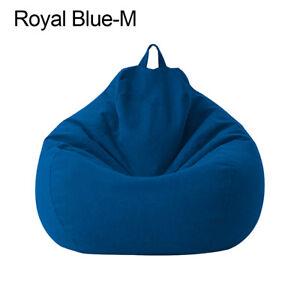 Home Decor Lazy Lounger Large Bean Bag Chair Sofa Cover Snugly Gamer Chair
