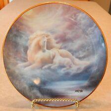 Hamilton Collection Plate A Mother's Love Unicorn Jack Shalatain