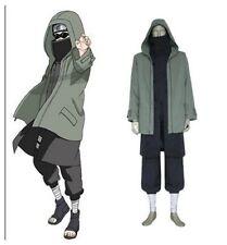 Naruto Shippuden Shino Aburame Cosplay Costume