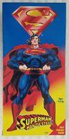 SUPERMAN MAN OF STEEL SUPERMAN DELUXE 12 INCH ACTION FIGURE K-MART EXCLUSIVE