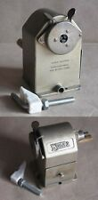VINTAGE SWISS METAL TABLE PENCIL SHARPENER WYNA 2