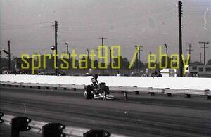 Front Engine Dragster - Feather Driver Helmet - Vintage 35mm Race Negative