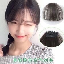 Bangs Women's Wavy Hair Extensions