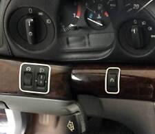 D BMW E38 7er Chrom Rahmen für Tempomat /Regler Scheinwerfer - Edelstahl poliert