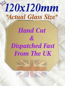 120 x 120mm Mirror Glass Plate 4 Heated 3D Printer Bed Monoprice Mini