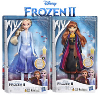Disney Frozen 2 Swirling Light Up Anna or Elsa Fashion Doll
