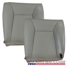 1998-02 Dodge Ram 2500 3500 Driver Passenger Bottom Vinyl Seat cover  (GRAY )