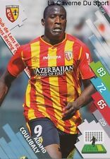 RCL-UP1 ADAMO COULIBALY # RC.LENS CARD ADRENALYN FOOT 2015 PANINI