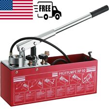 "New listing Hydrostatic Pressure Test Pump 50Bar 726 Psi 3Gallon Tank 45Ml 1/2"" Bsp Pipeline"