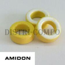 T50-26 Tore amidon jaune blanc 12.70x7.70x4.83mm (lot de 3)