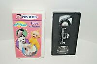 TELETUBBIES VHS Baby Animals Video Tape 70 Minutes PBS KIDS Clean Tested EUCEUC