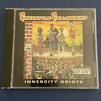 Freestyle Fellowship Innercity Griots CD Explicit 4th & Broadway M6270