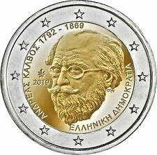 Griekenland 2019 - Andreas Kalvos - 2 euro CC - UNC