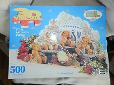 Cherished Teddies 3D Visions puzzle First Decorative Puzzle by Rose Art