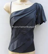 Silk Party Cap Sleeve Tops & Shirts for Women