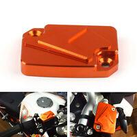 CNC Front Brake Master Bremsbehälter Deckel für KTM 125 200 390 Duke Orange DH