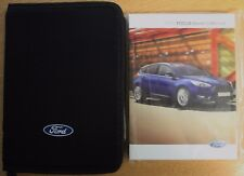 buy ford focus 2014 car owner operator manuals ebay rh ebay co uk Ford Ka USA 2016 Ford Ka