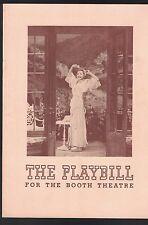 The Two Mrs Carrolls Playbill August 29 1943 Elisabeth Bergner Vera Allen