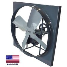 "PANEL EXHAUST FAN Belt Drive - 48"" - 3 Hp - 27,500 CFM - 115/230V or 208-230/460"