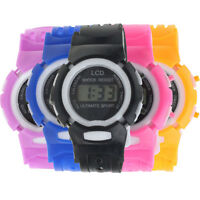 New Boys Girls Students Watch Time Sport Electronic Digital LCD Sport WristWatch