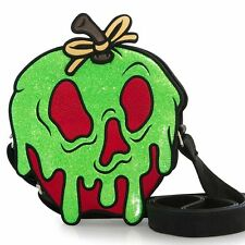 "NEW Loungefly X DISNEY Red/Green ""SNOW WHITE POISON APPLE"" Crossbody Bag - SALE"
