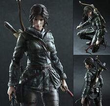 "10"" Square Enix Play Arts Kai Rise of Tomb Raider: Lara Croft figure Figurine"