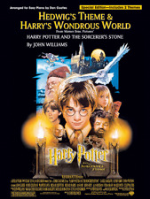 Hedwig's Theme & Harry's Wondrous World - Easy Piano Sheet Music-New On Sale!