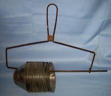 Antique/VTG Lot 35 Stainless Steel Cream Separator Cups & Rack/Holder!